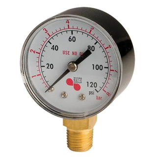 Arbeitsmanometer 0-6/4 bar