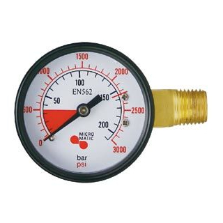 Inhaltsmanometer 0-300 bar