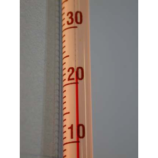 Thermometer Alkohol rot (0-100°C)