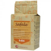 Safale S-04, dried yeast 500 g, obergärig