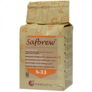 Safale S-33, dried yeast 500 g, obergärig